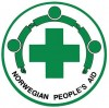 Logo for Norwegian People's Aid (English)